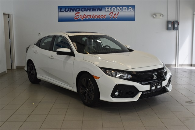 New 2017 Honda Civic EX L 4D Hatchback in Greenfield N